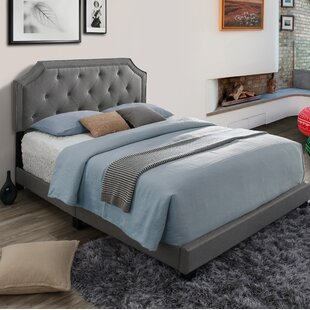 Hornyak Queen Upholstered Panel Bed by Alcott Hill