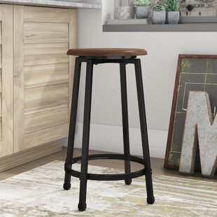 Reviews Woodside 24 Bar Stool (Set of 2) by Trent Austin Design
