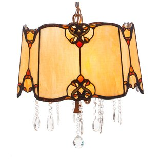Fleur De Lis Living Critchfield 4-Light Drum Pendant