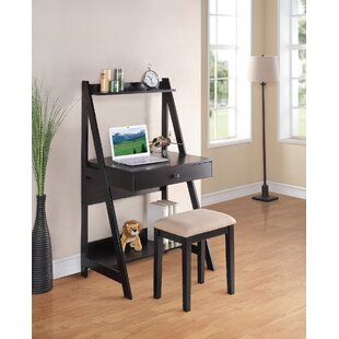 Magnolia Ladder Desk And Stool Set by Andover Mills Great Reviews