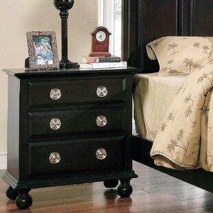 Arenzano 3 Drawer Nightstand by Canora Grey