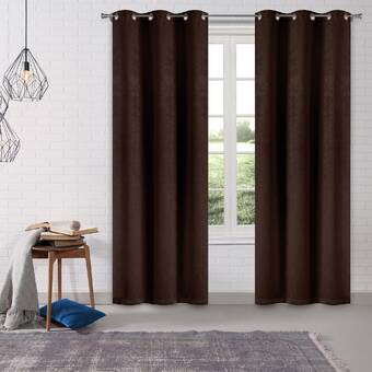 Dr International Kittalilly Toile Blackout Thermal Grommet Curtain Panels Wayfair