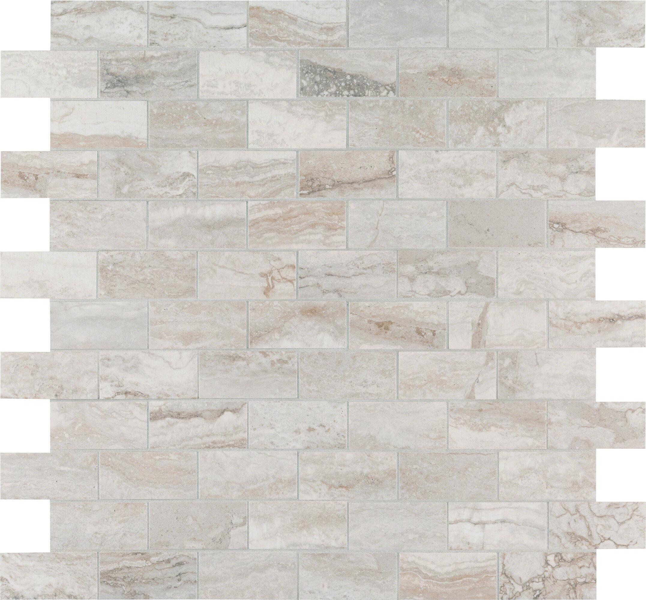 Brick Joint Mosaic Wall Floor Tile