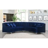 Strouse 141.34 Symmetrical Modular Sectional by Everly Quinn