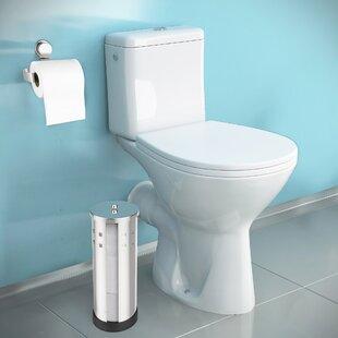 Inexpensive Freestanding Toilet Paper Holder ByLavish Home