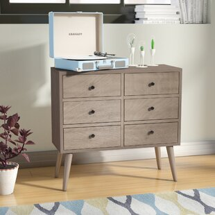 Read Reviews Grant 6 Drawer Wood Accent Chest By Langley Street