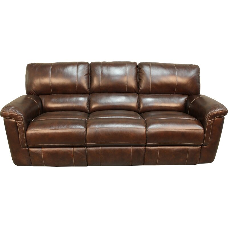 Blair Dual Leather Reclining Sofa