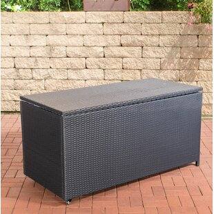 Shinault 635 L Rattan Storage Box By Sol 72 Outdoor