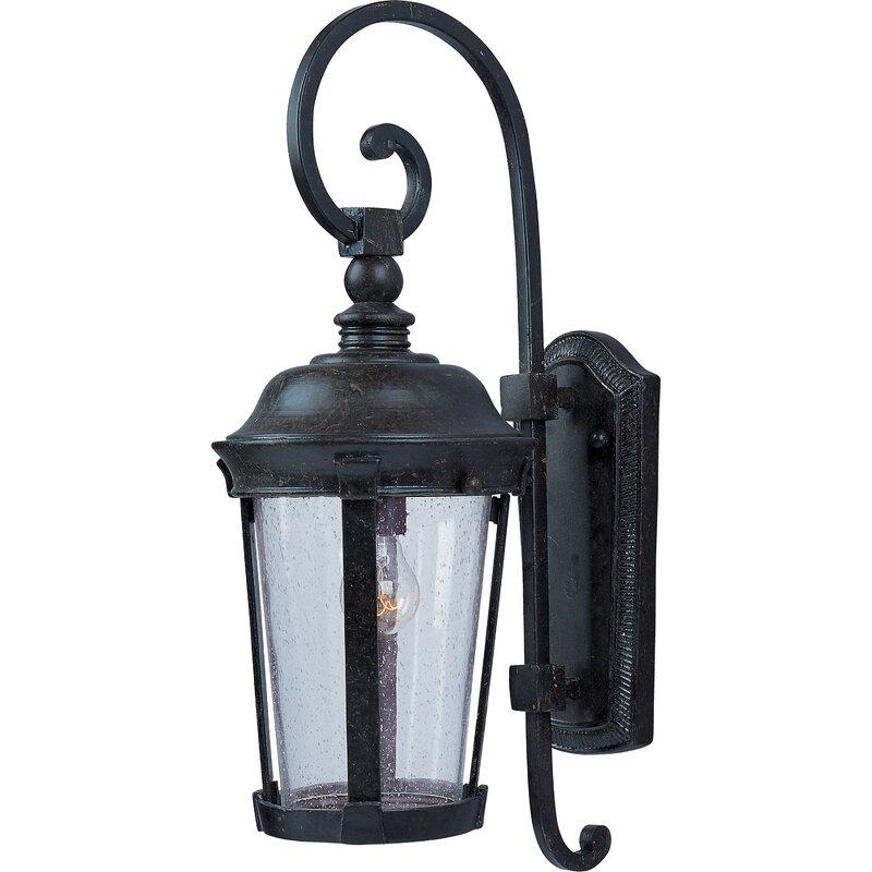 Darby Home Co Elana Traditional 1 Light Outdoor Wall Lantern Wayfair