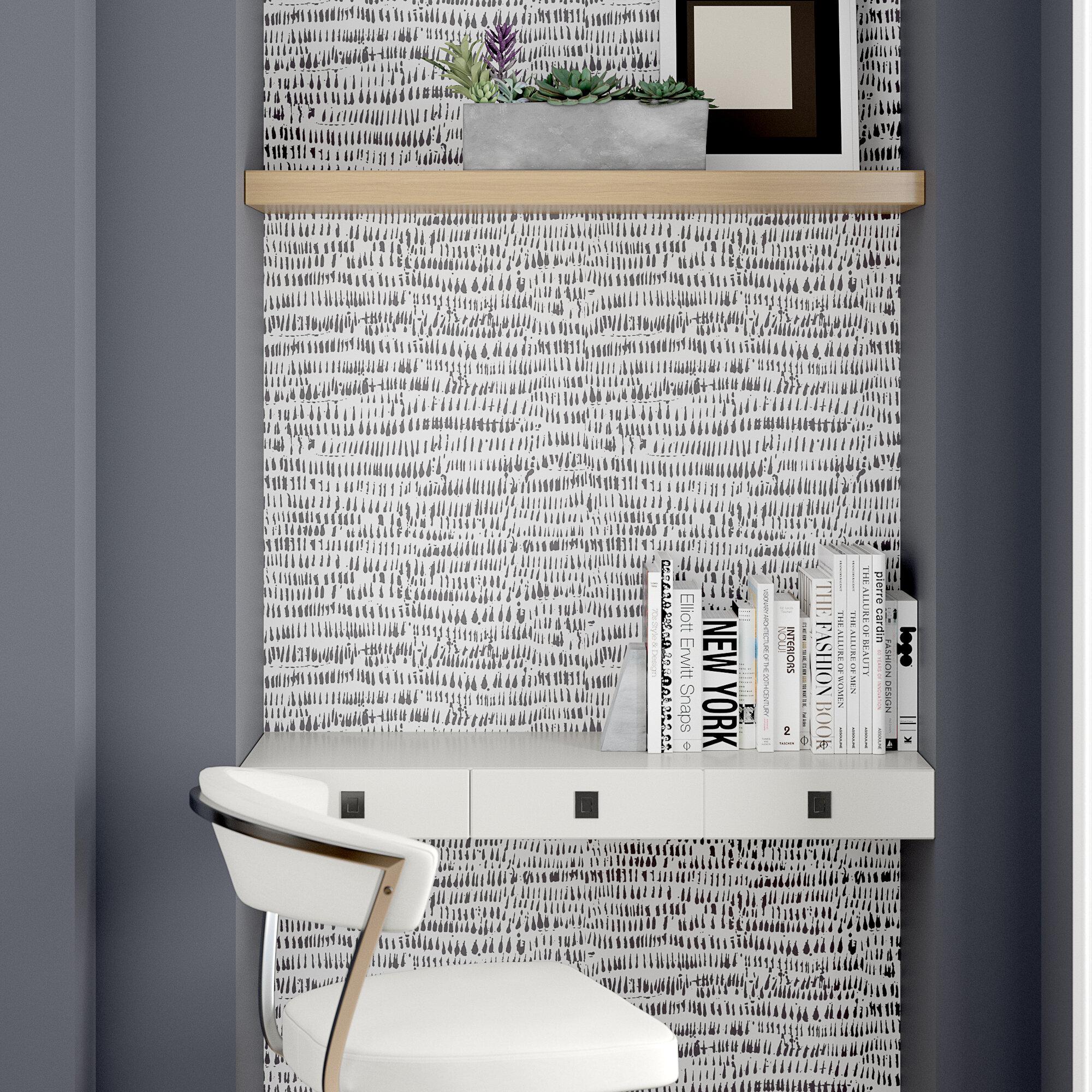 Orren Ellis Tariq 18 L X 20 5 W Texture Peel And Stick Wallpaper Roll Reviews Wayfair