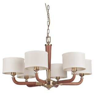 Foundry Select Bolger 6-Light Shaded Chandelier