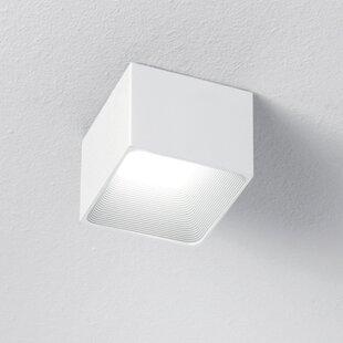 ZANEEN design 1-Light LED Flush Mount