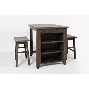 Westhoff 3 Piece Pub Table Set by Gracie Oaks