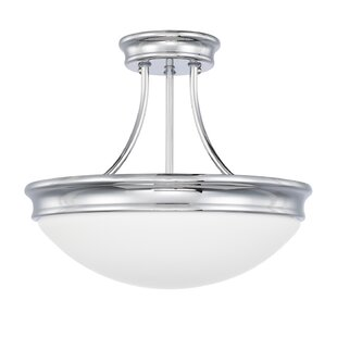 Stacie 3-Light Semi Flush Mount by Winston Porter