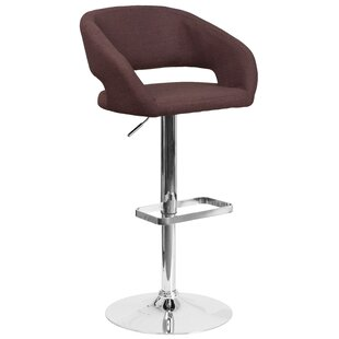 Grow Adjustable Height Swivel Bar Stool