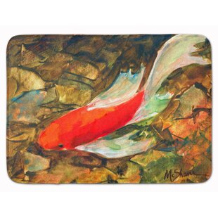 Louis Koi Fish Memory Foam Bath Rug