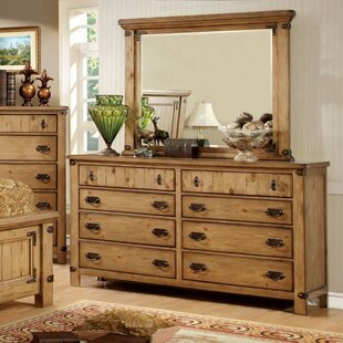 Torrino 8 Drawer Double Dresser with Mirror