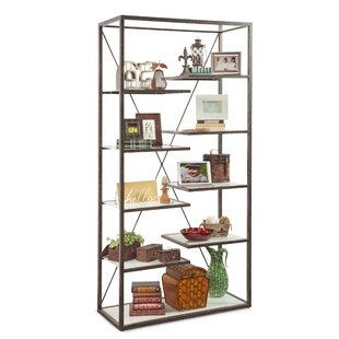 Takahito Industrial Etagere Bookcase by 17 Stories