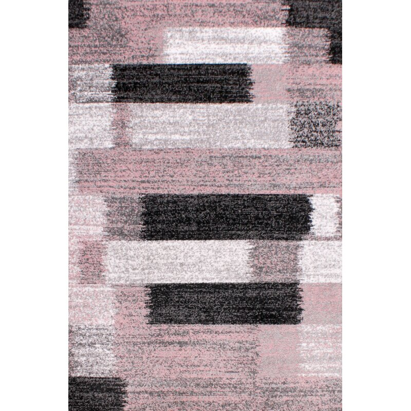 Ebern Designs Hoadley Tufted Light Pink