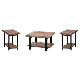 Trent Austin Design Borica 3 Piece Coffee Table Set