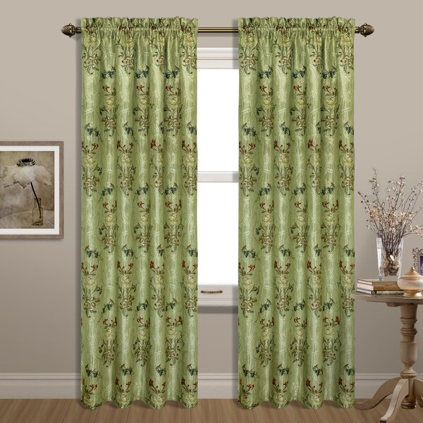 Combine And Match With Gold Curtains Living Room Austrian Curtains | Wayfair