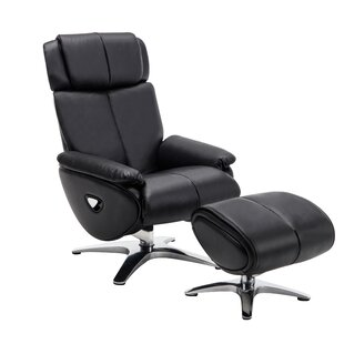 Suellen Swivel Recliner with Ottoman