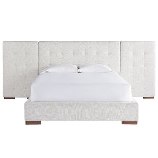 Best Naoma Wall Upholstered Panel Bed by Latitude Run Reviews (2019) & Buyer's Guide