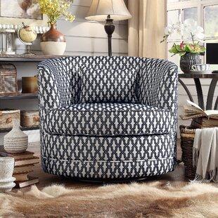 Alcott Hill Dmitri Swivel Barrel Chair