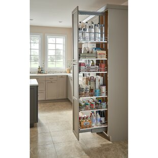 Soft-Close Chrome Pull Out Pantry