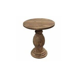 Winona Round End Table by One Allium Way