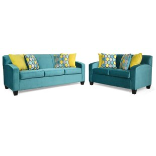 Abou 2 Piece Living Room Set by Latitude Run