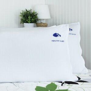 CertiPUR-US Certified Memory Foam Shredded Pillow (Set of 2) by Alwyn Home
