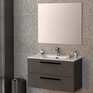 Reavis Bathroom 800mm Wall Hung Single Vanity Unit By Brayden Studio