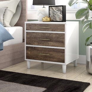 Smith 3 Drawer Nightstand by Modern Rustic Interiors