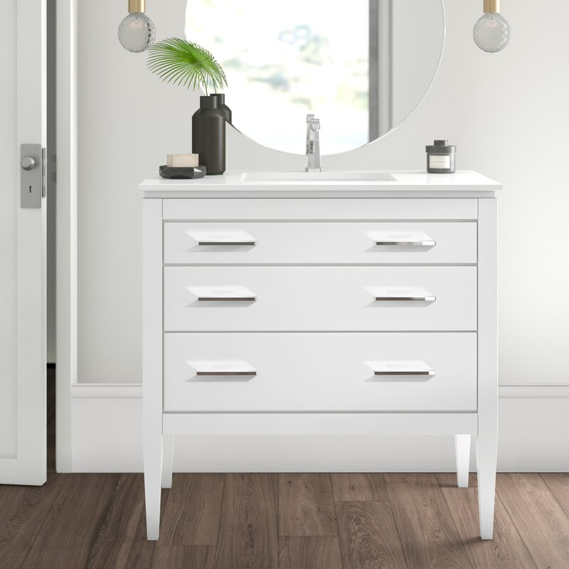 mercury row yamashita 36 39 39 single bathroom vanity set reviews wayfair. Black Bedroom Furniture Sets. Home Design Ideas