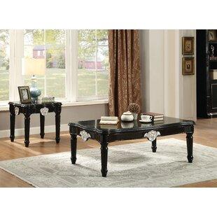 Astoria Grand Mcclellan 2 Piece Coffee Table Set
