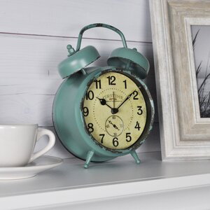 Double Bell Tabletop Clock