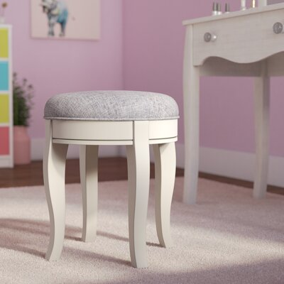 Excellent Greyleigh Troutdale Vanity Stool Finish Antique White Alphanode Cool Chair Designs And Ideas Alphanodeonline