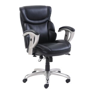 Read Reviews Outten Genuine Leather Task Chair by Symple Stuff Reviews (2019) & Buyer's Guide