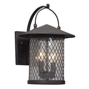 Price comparison Sylvester 2-Light Outdoor Wall Lantern By Darby Home Co