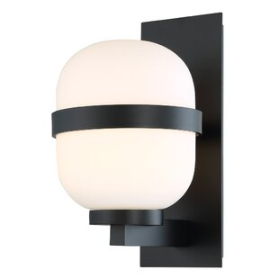 Breakwater Bay Wilner 1 Light LED Outdoor Sconce