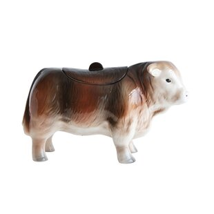 Ceramic Cow Cookie Jar