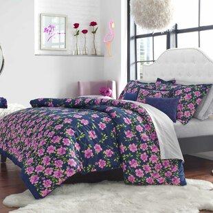 Rose Garden Bonus Reversible Comforter Set by Betsey Johnson