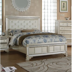 House of Hampton Chumbley Upholstered Panel Bed