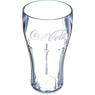 Coca-Cola® Stackable™ 24 oz. Plastic Tumbler by Carlisle Food Service Products