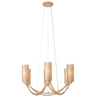 Varaluz Casablanca 6-Light Shaded Chandelier
