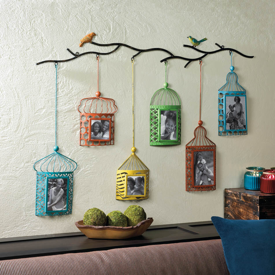 Zingz & Thingz Birdcage Picture Frame & Reviews | Wayfair