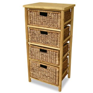 Elim 3 Drawer Bamboo Accent Ch..