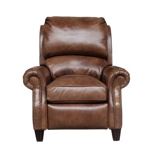 Churchill Leather Manual Recliner Darby Home Co