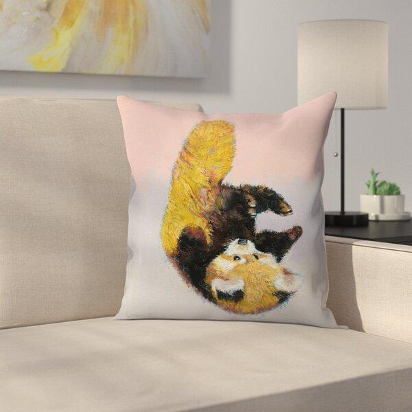 East Urban Home Red Panda Cub Throw Pillow Wayfair